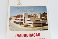 Livro da inauguração do novo quartel