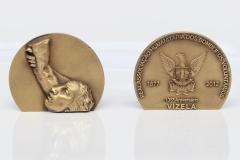 Medalhão 135º aniversário