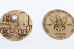 Medalhão 140º aniversário