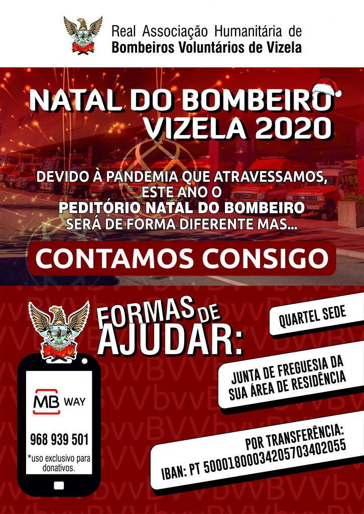 NATAL DO BOMBEIRO 2020