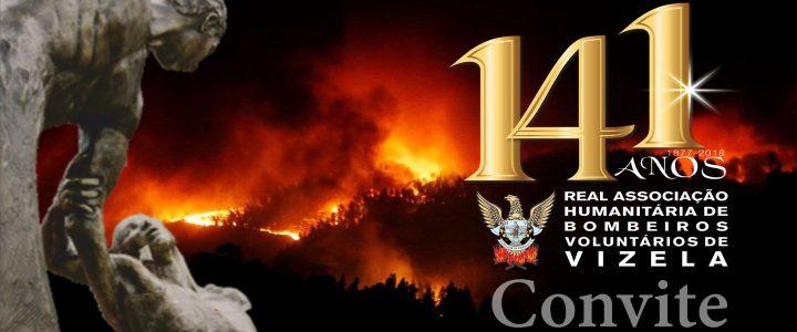 141º Aniversário dos Bombeiros de Vizela